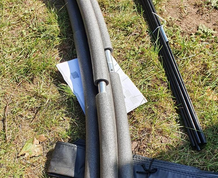Trampolin Sicherheitsstangen