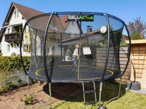 Wellactive Gartentrampolin 366 cm